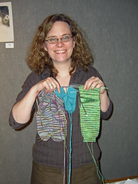 my socks meet Stephanie Pearl-McPhee