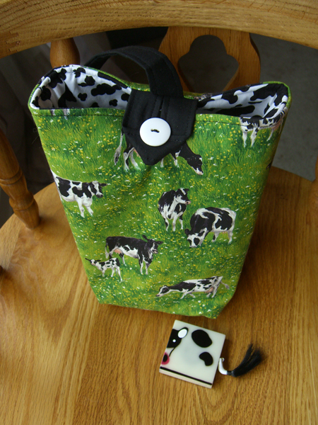 Little Cow Bag with Little Cow