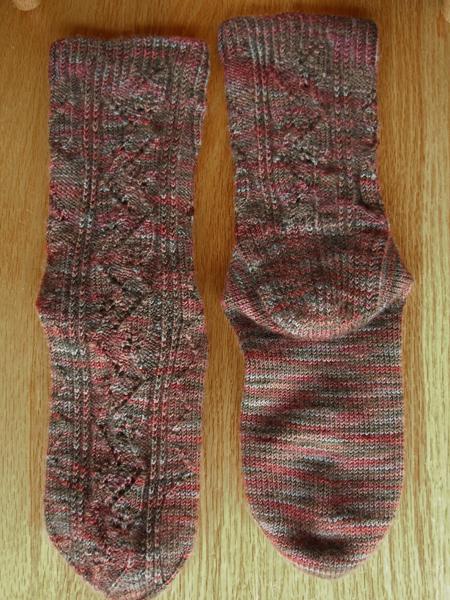 Java Leaf Socks