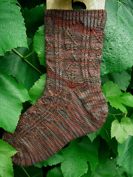 Java Leaf Sock