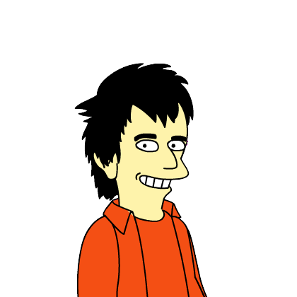a Simpsonized #1 Son