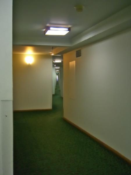 fun-house hallway