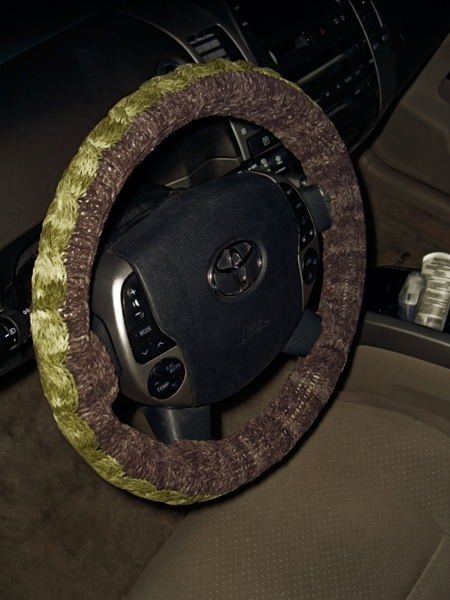 cozy steering wheel