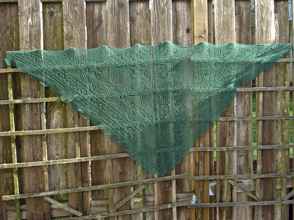 Pacific Northwest Shawl