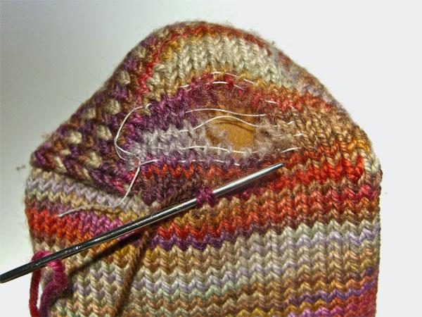 duplicate stitching