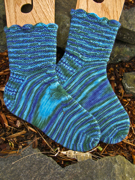 Salish Sea Socks