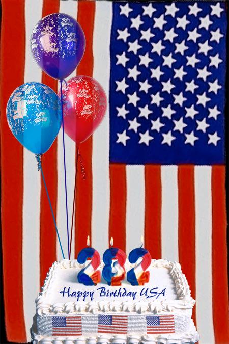 Happy B-Day USA