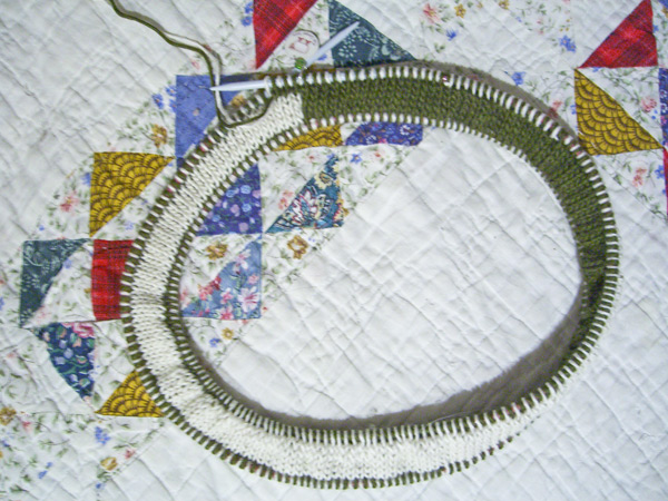 double-knit moebius