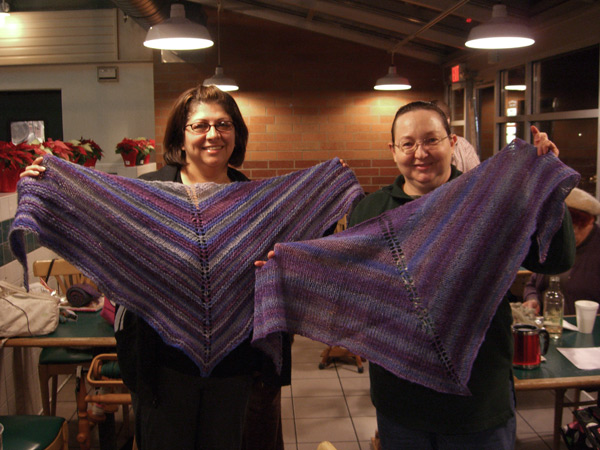 one fiber, two results