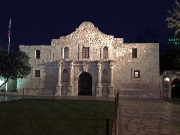 the Alamo - or at least the church