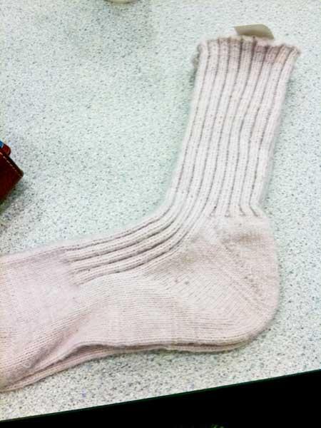 BGW's socks