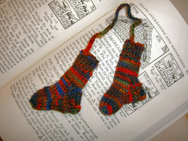little socks bookmark