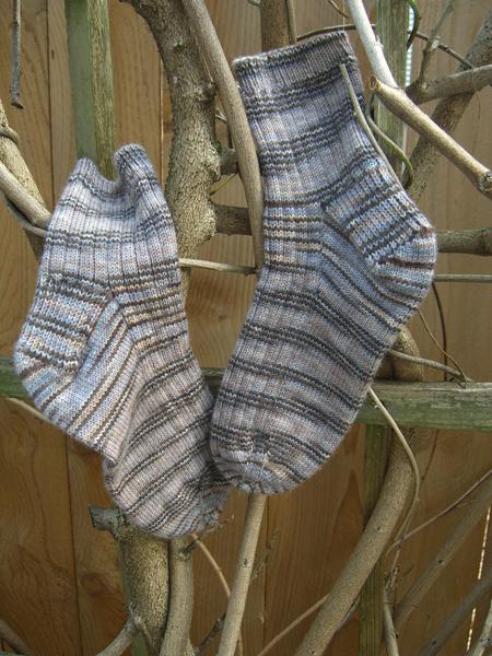 Portland Downpour Socks