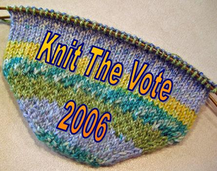 knit the vote 2006