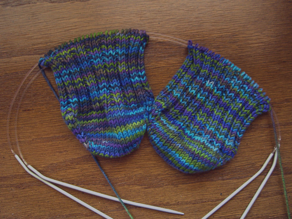 STR Lapis socks