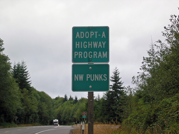 Adopt-A-Highway / NW Punks