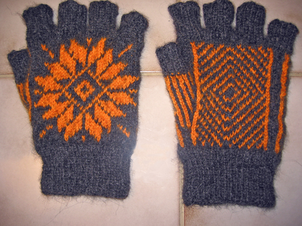 fair isle gloves for #1 Son