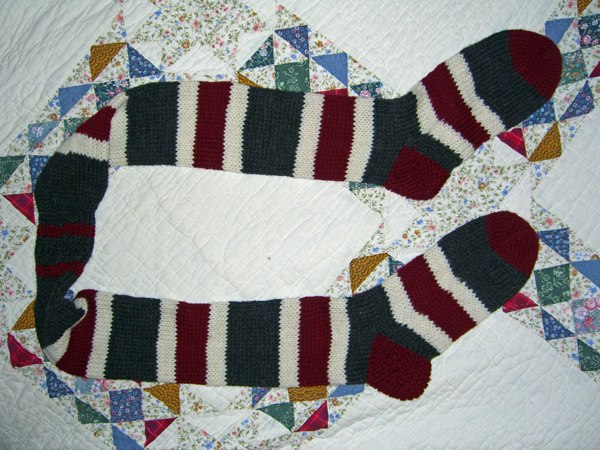 Sock Scarf Two