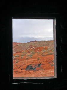 window on the desert