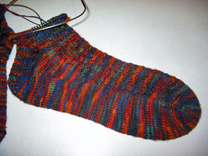 Wildfoote socks on needles