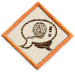 The Proselytize Knitting Badge